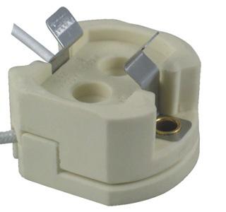 G-12 plug wire porcelain lamp holder socket base