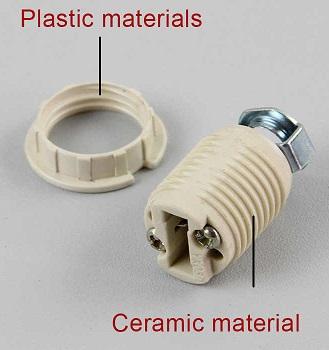 G9 porcelain lamp holder socket base m10 bracket set