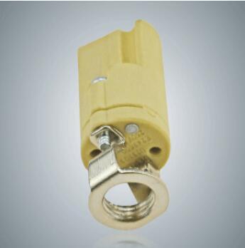 G9 porcelain light bulb socket base with screw thread