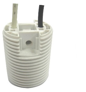 GE-517 Edison Screw Lamp Socket E17 Bulb Base