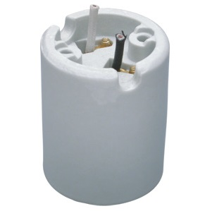 E39 mogul porcelain socket base 600V 1500W 18″ leads