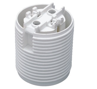 GE-6051 Plastic lamp socket base E27