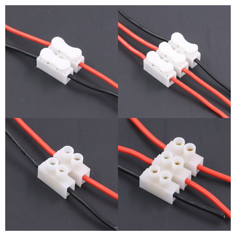 CH2 Spring Wire Quick Connector application