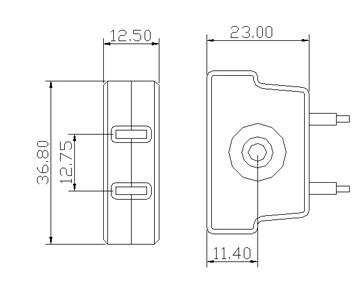 PAR46 PAR38 Mogul prong light bulb socket base GE-9008