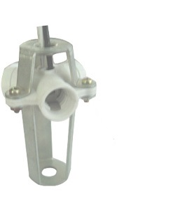 Three-light cluster E12 Plastic Candelabra Lamp holders